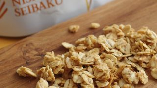 子供と毎朝食べたい、安心素材でできた『西田精麦』の「国産大麦グラノーラ」