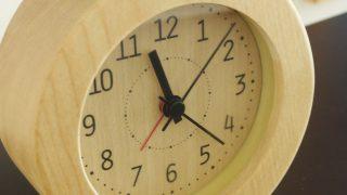 機能も価格もデザインも満足!毎朝活躍中のニトリのシンプルな目覚まし時計